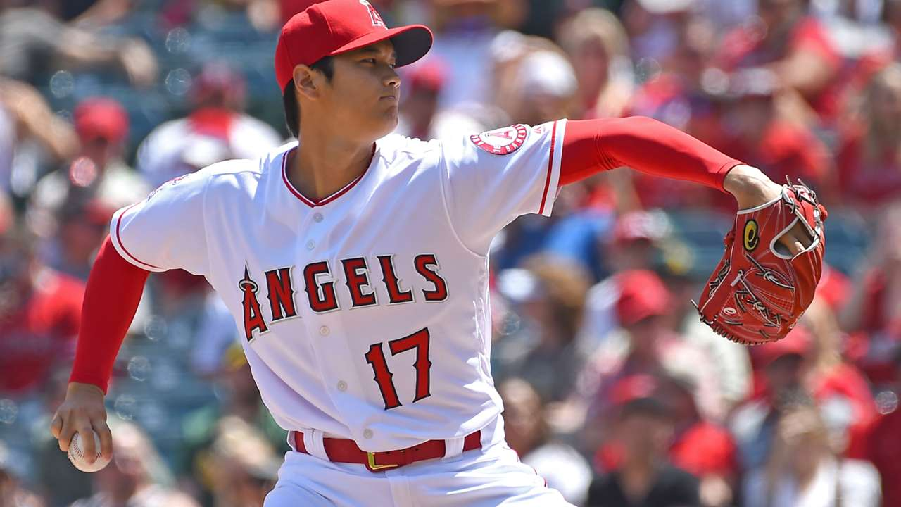 大谷翔平 エンゼルス MLB 投手