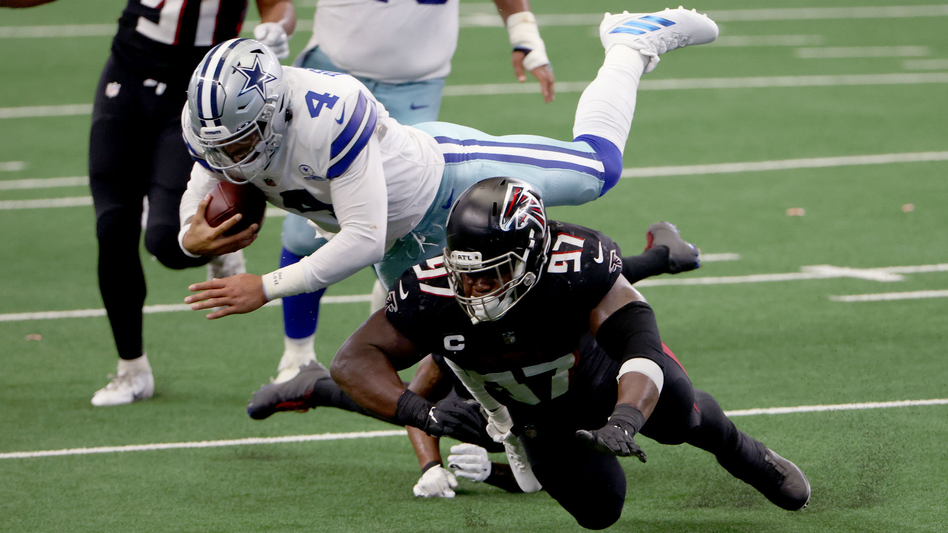 Cowboys Gifted A Win After Falcons Inexplicable Error On Onside Kick The Union Journal