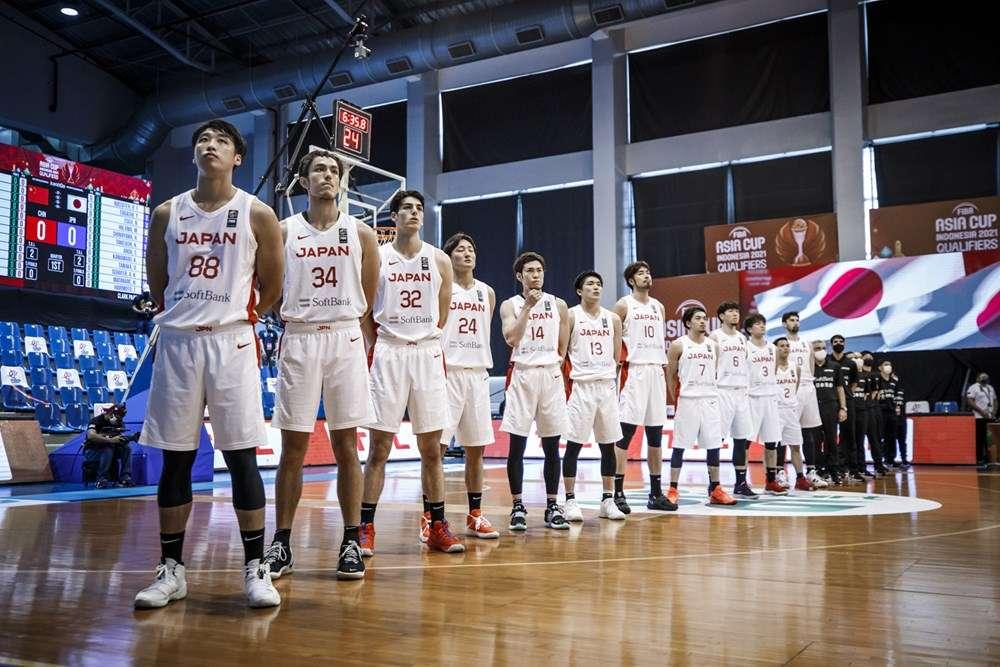 FIBAアジアカップ2021予選 日本代表