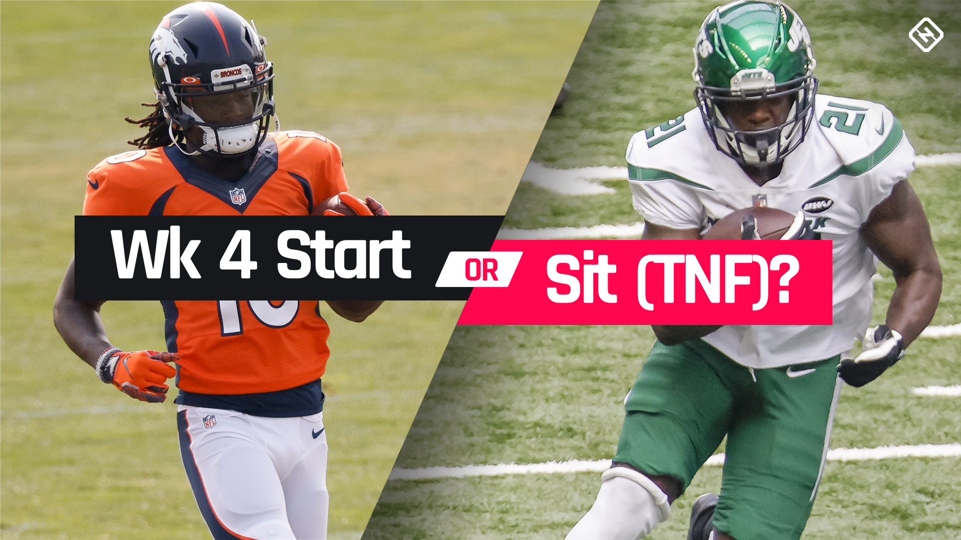 Broncos Vs Jets Fantasy Football Start Em Sit Em For Week 4 Thursday Night Football Worldnewsera