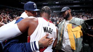 Carmelo Anthony, Dwyane Wade, LeBron Wade