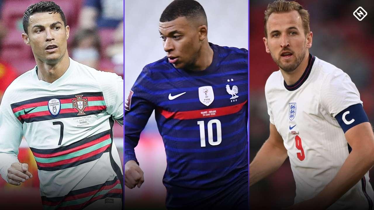Euros 2021 - Ronaldo, Kane, Mbappe