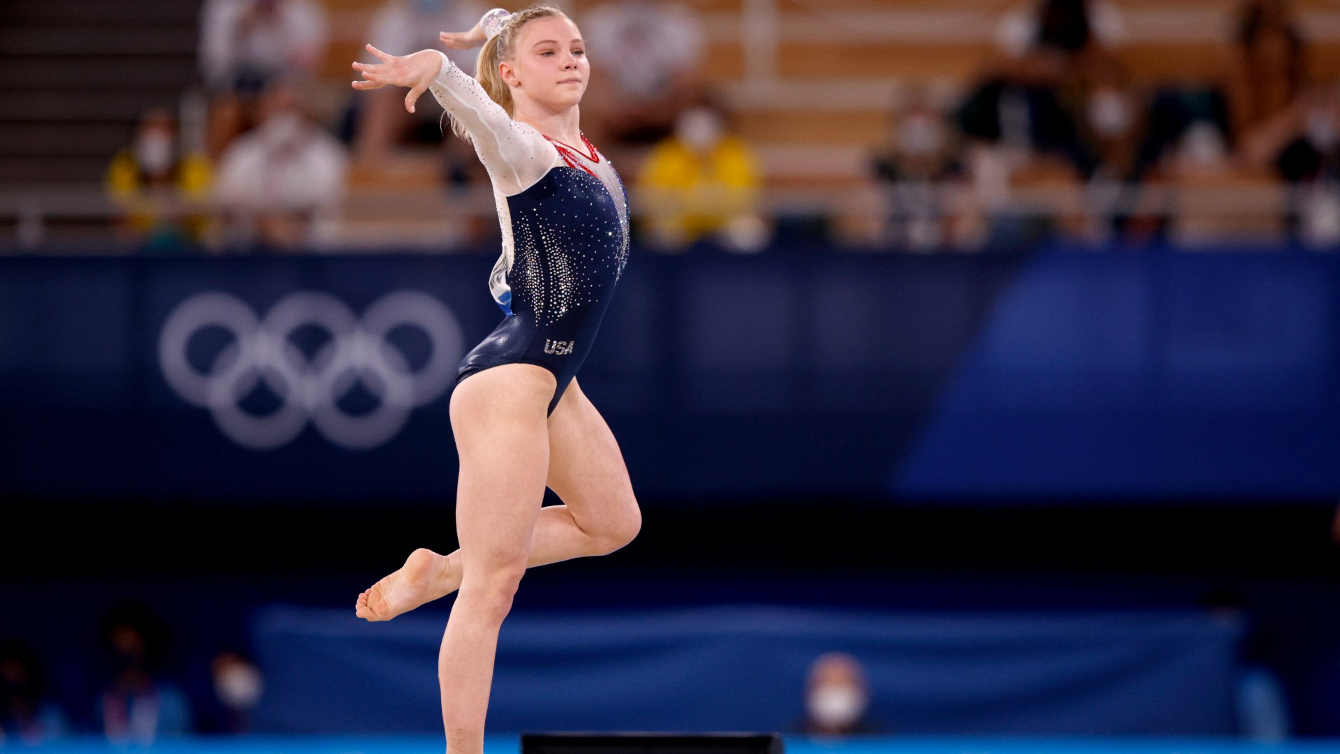 Olympic Gymnastics Results: Jade Carey Takes Home Gold Medal After Dazzling Floor Routine