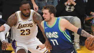 Luka Doncic Dallas Mavericks LeBron James Los Angeles Lakers