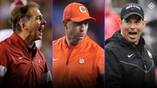 Nick Saban-Dabo Swinney-Ryan Day-010920