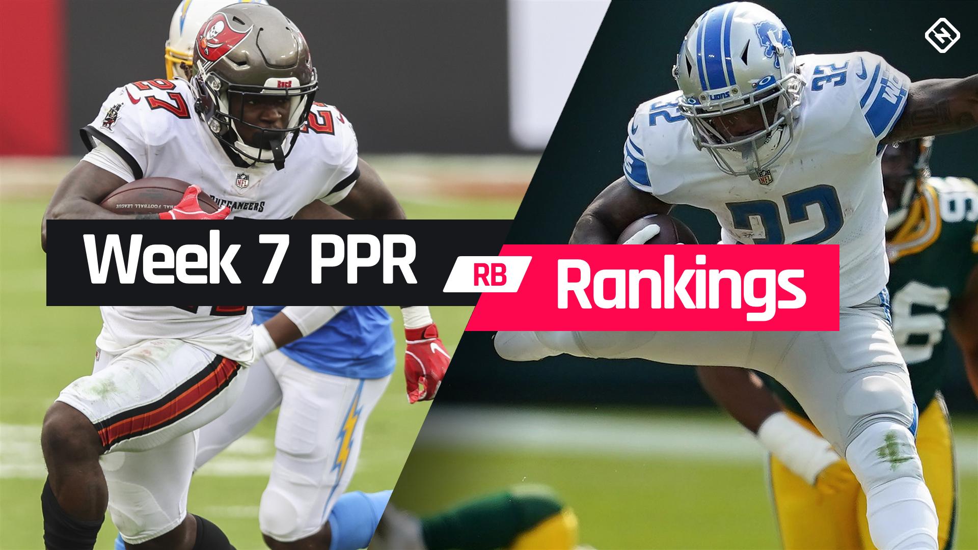 Week 7 Fantasy Football Running Back Ppr Rankings Sporting News
