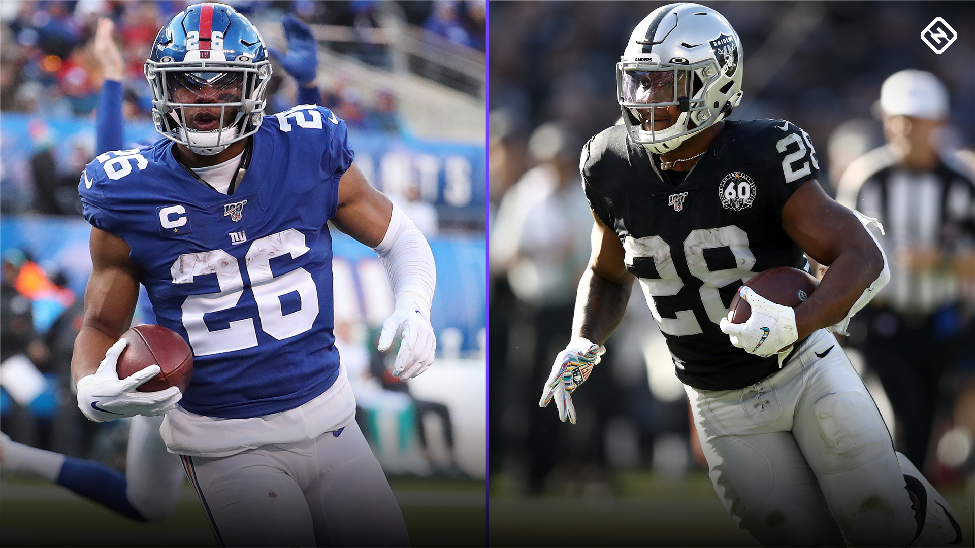 Updated 2020 Fantasy Football RB Rankings: Christian McCaffrey, Saquon Barkley lead deep group of running backs 1