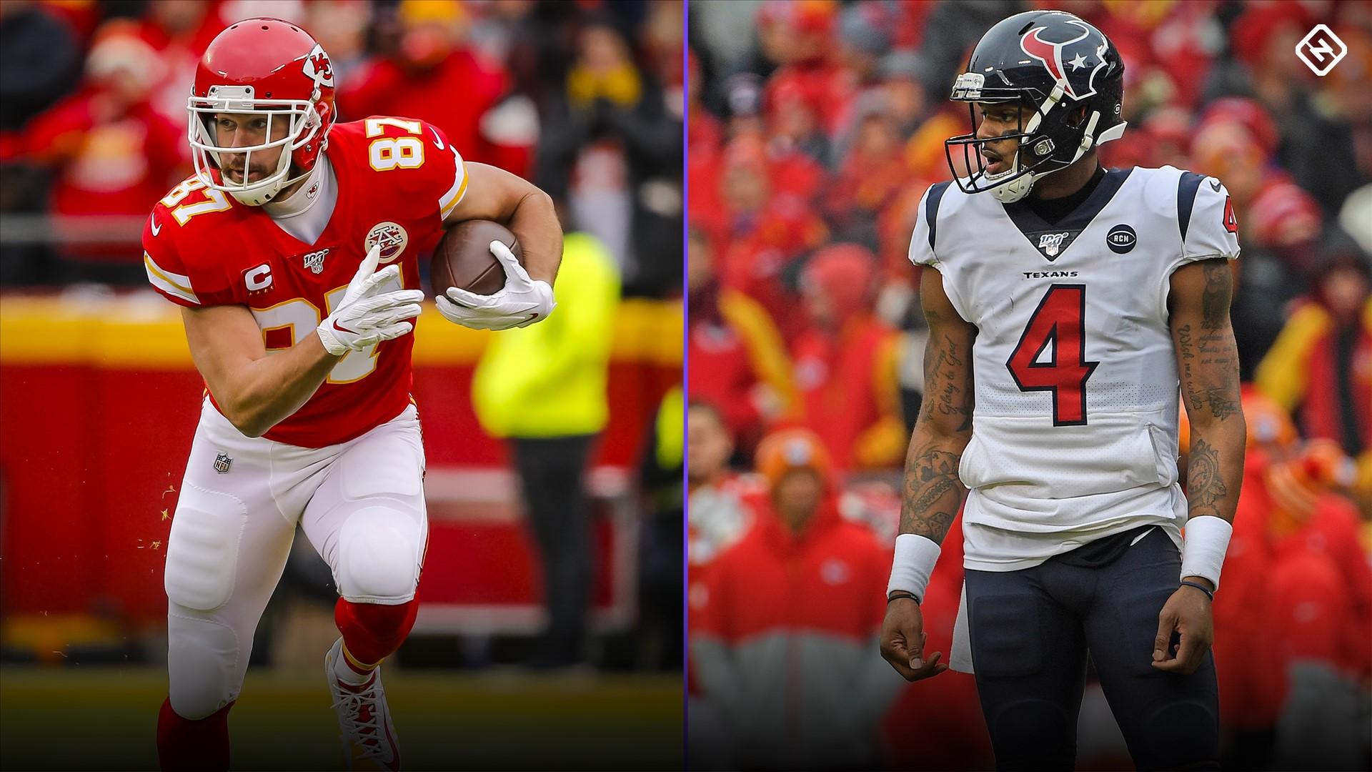 Texans vs. Chiefs: Fantasy Football Start 'Em Sit 'Em for Week 1 Thursday Night Football