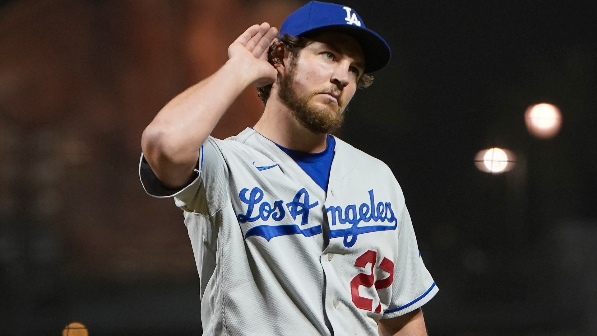 Trevor Bauer masters being a heel in his first Dodgers-Giants rivalry game  | Sporting News