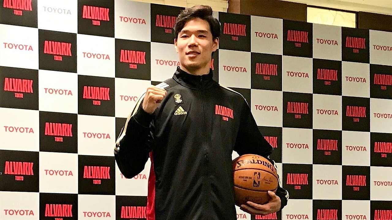 馬場雄大 アルバルク東京 Yudai Baba joins NBA Dallas Mavericks Training Camp