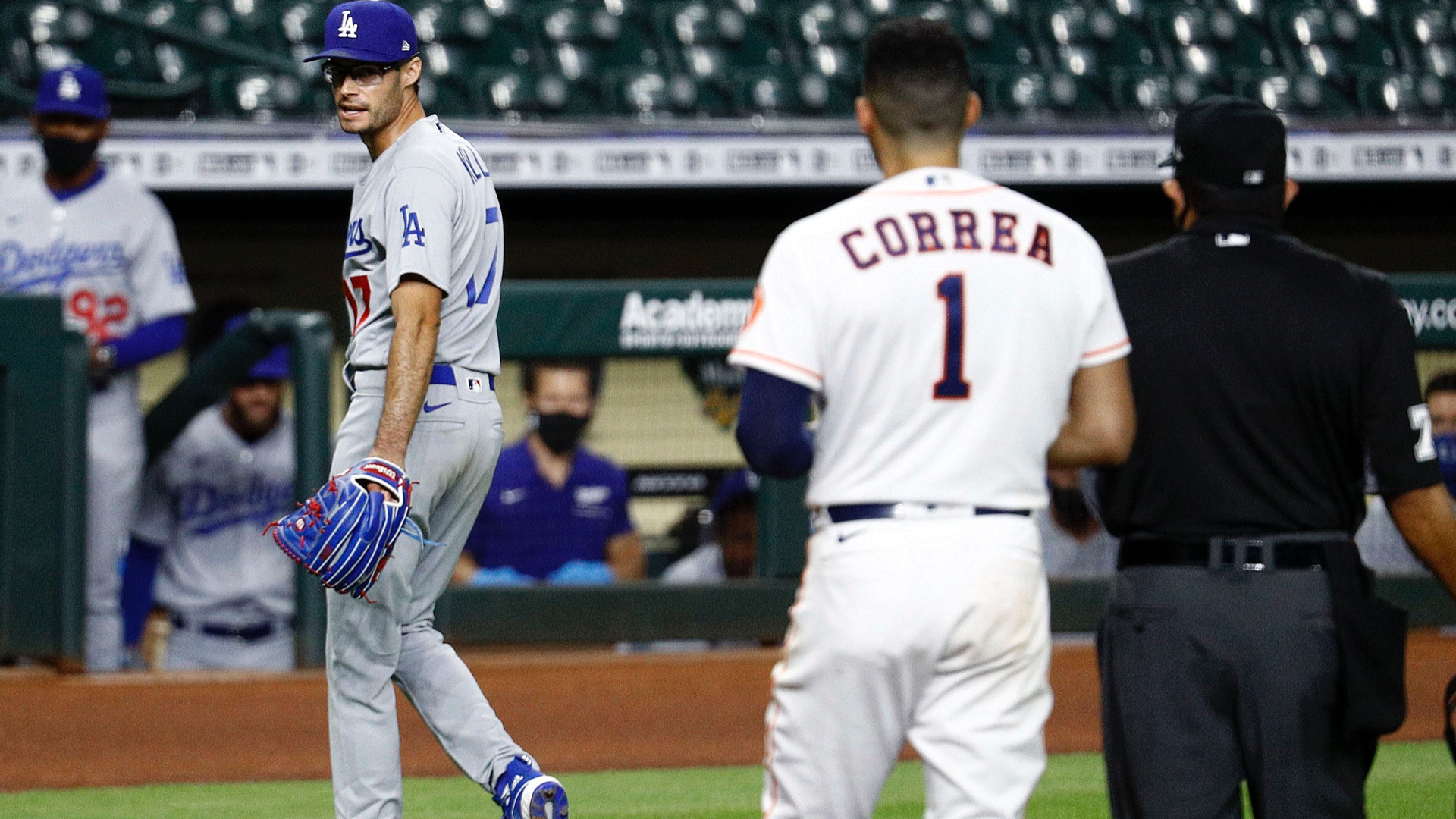 Dodgers, Astros get heated in rematch of 2017 World Series after Joe Kelly's antics 1