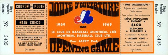 1969 Montreal Expos