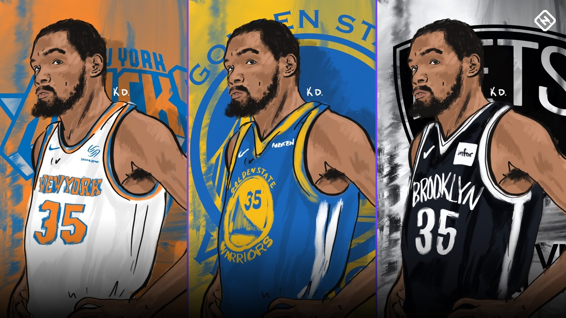 Kevin Durant Free Agency Fits Will Kd Choose Warriors Knicks Nets Or Clippers After Major Injury Sporting News