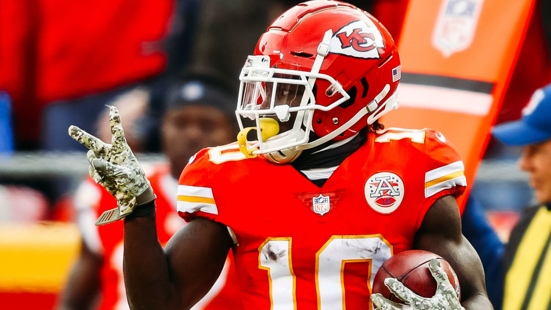 Tyreek Hill's timeline of trouble: From a domestic violence arrest in college to child abuse investigation with Chiefs