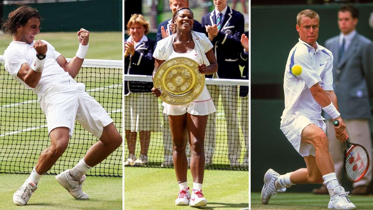 Wimbledon winners since 2000