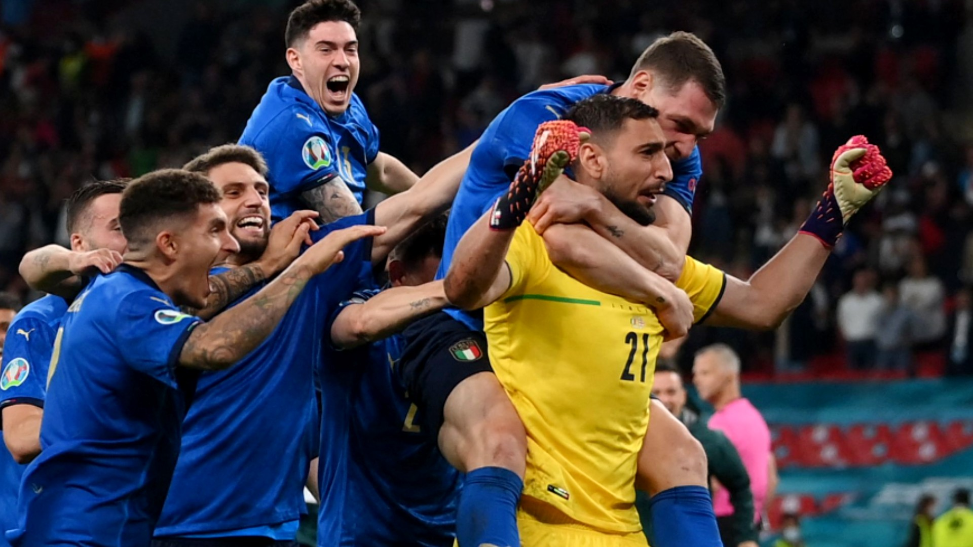 England vs. Italy result: Italians beat English in Euro 2021 final in penalty kick shootout