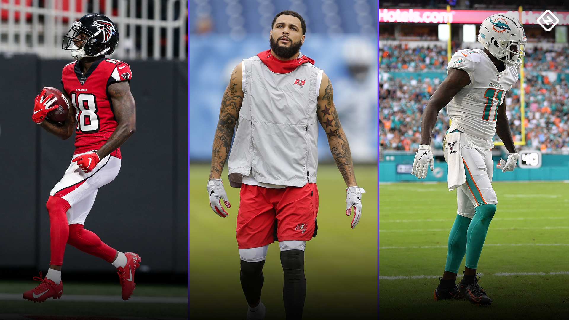 Fantasy Injury Updates Calvin Ridley Mike Evans Devante Parker Dj Chark Affect Week 15 Waiver Wire Pickups Sporting News Canada