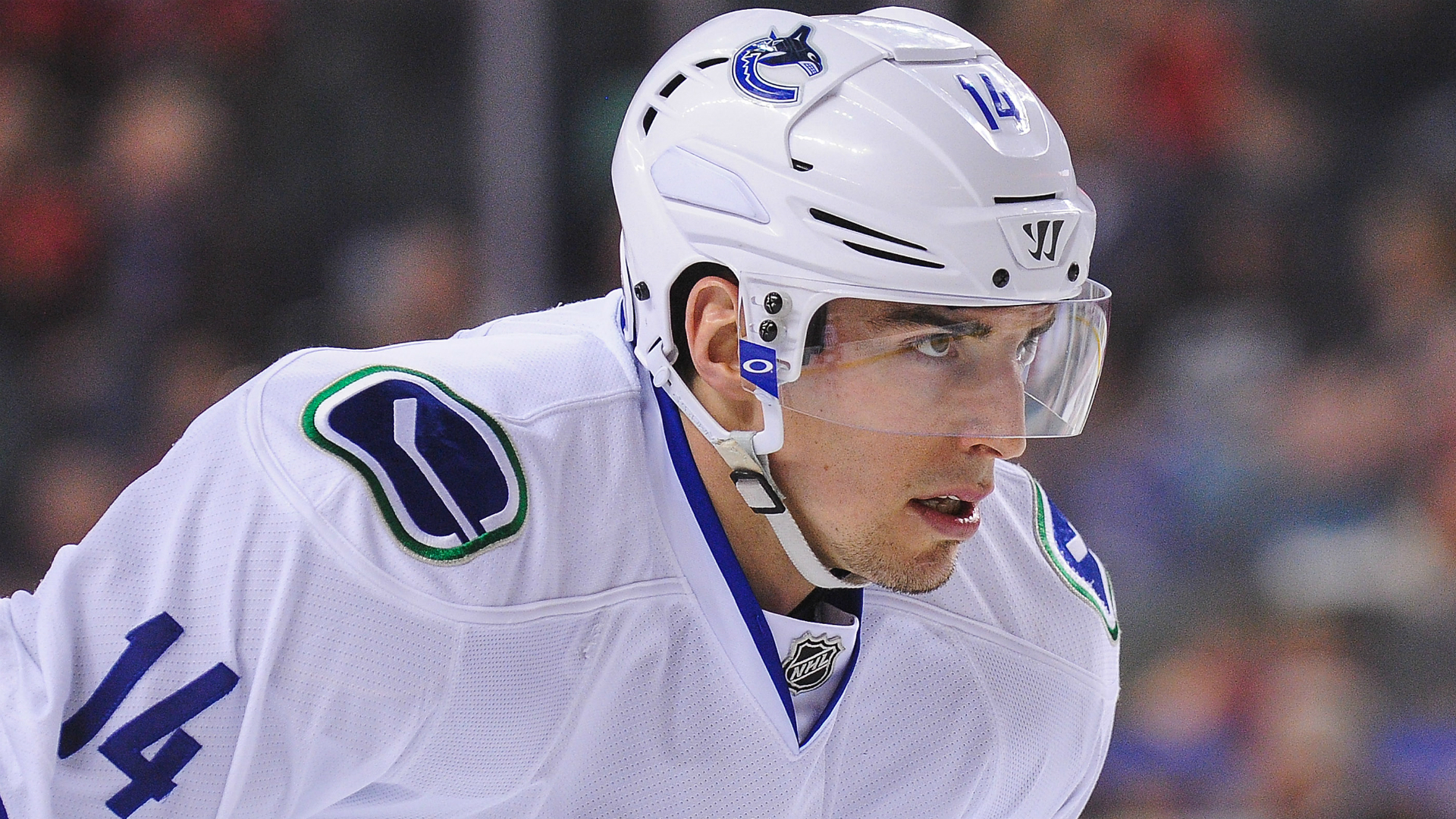 Vancouver Canucks' Alex Burrows thanks Henrik, Daniel Sedin in Ring of Honour speech