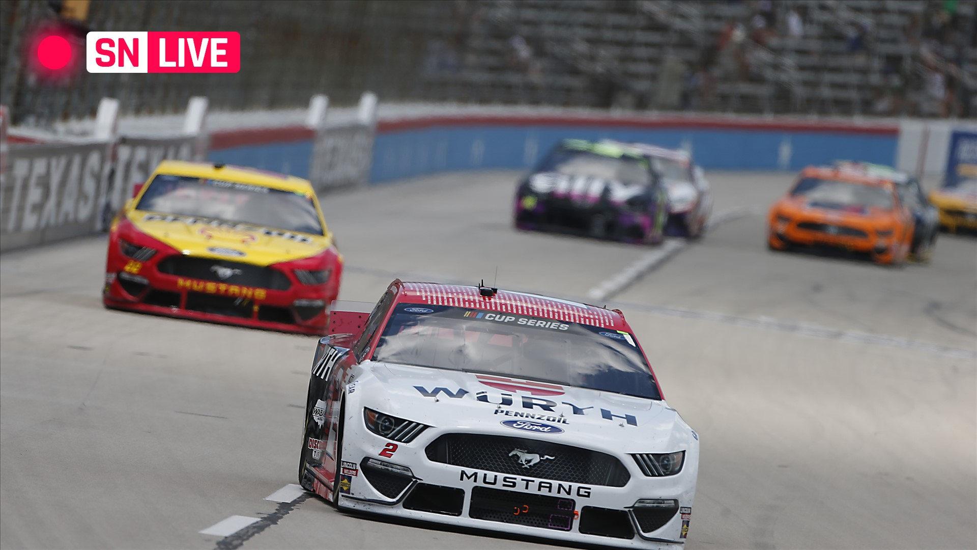 NASCAR at Texas results: Kyle Larson becomes first driver to qualify for Championship 4