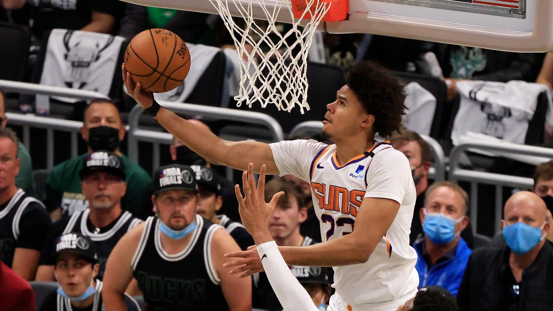 Cameron Johnson's ridiculous dunk on PJ Tucker births hilarious new NBA meme
