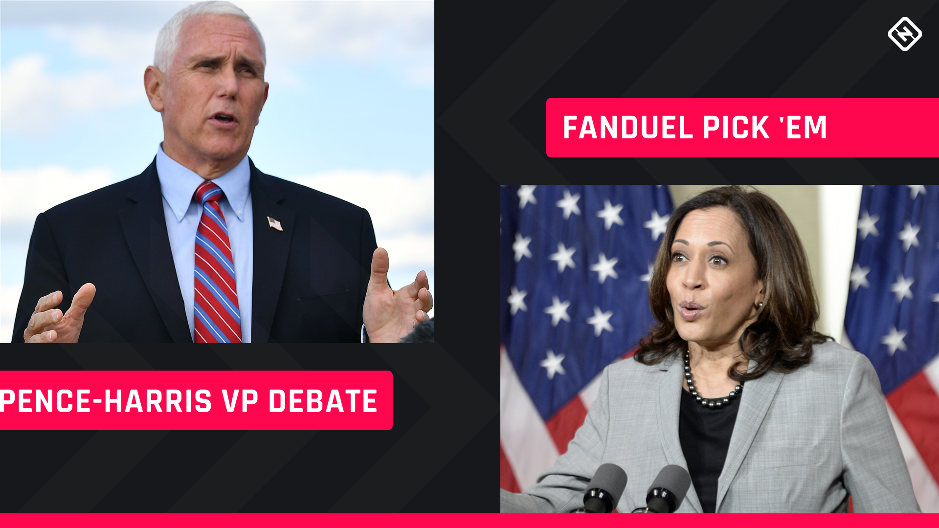 FanDuel Presidential Pick 'em: Prop bet-style picks for Pence-Harris vice presidential debate