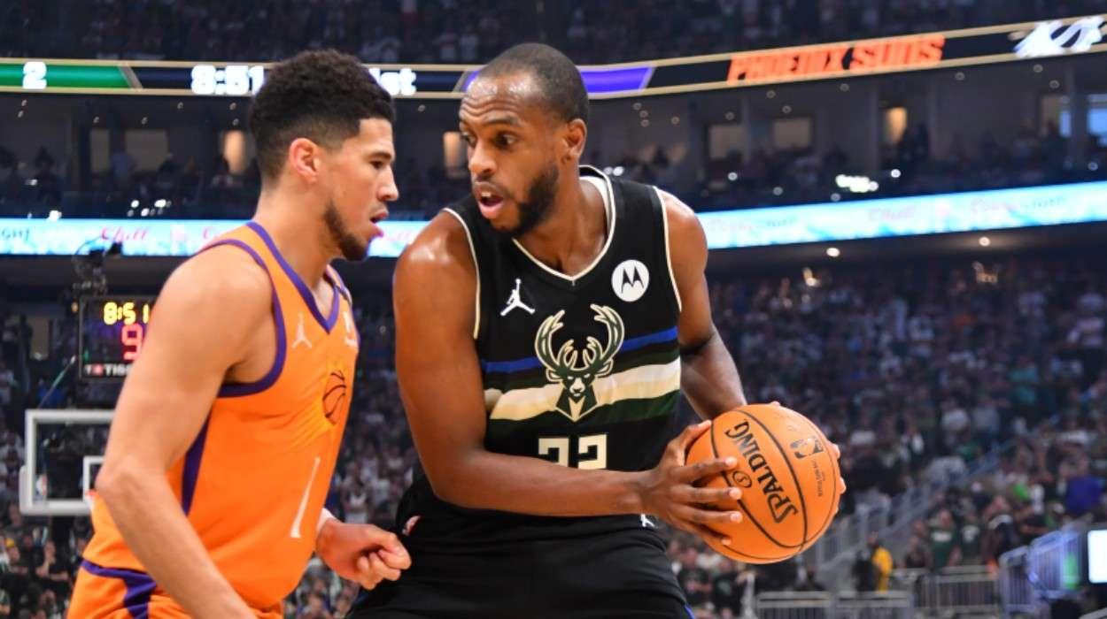 Khris Middleton Milwaukee Bucks Devin Booker Phoenix Suns