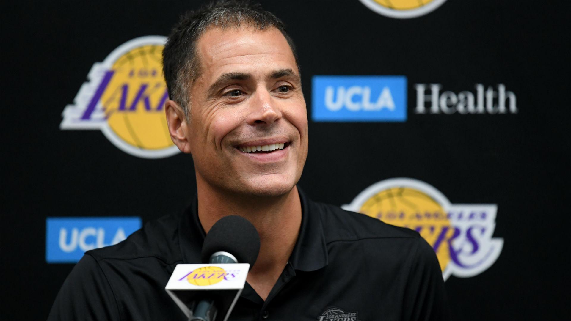 Lakers GM Rob Pelinka: Team looking to retool, 'smartly build' championship-caliber roster