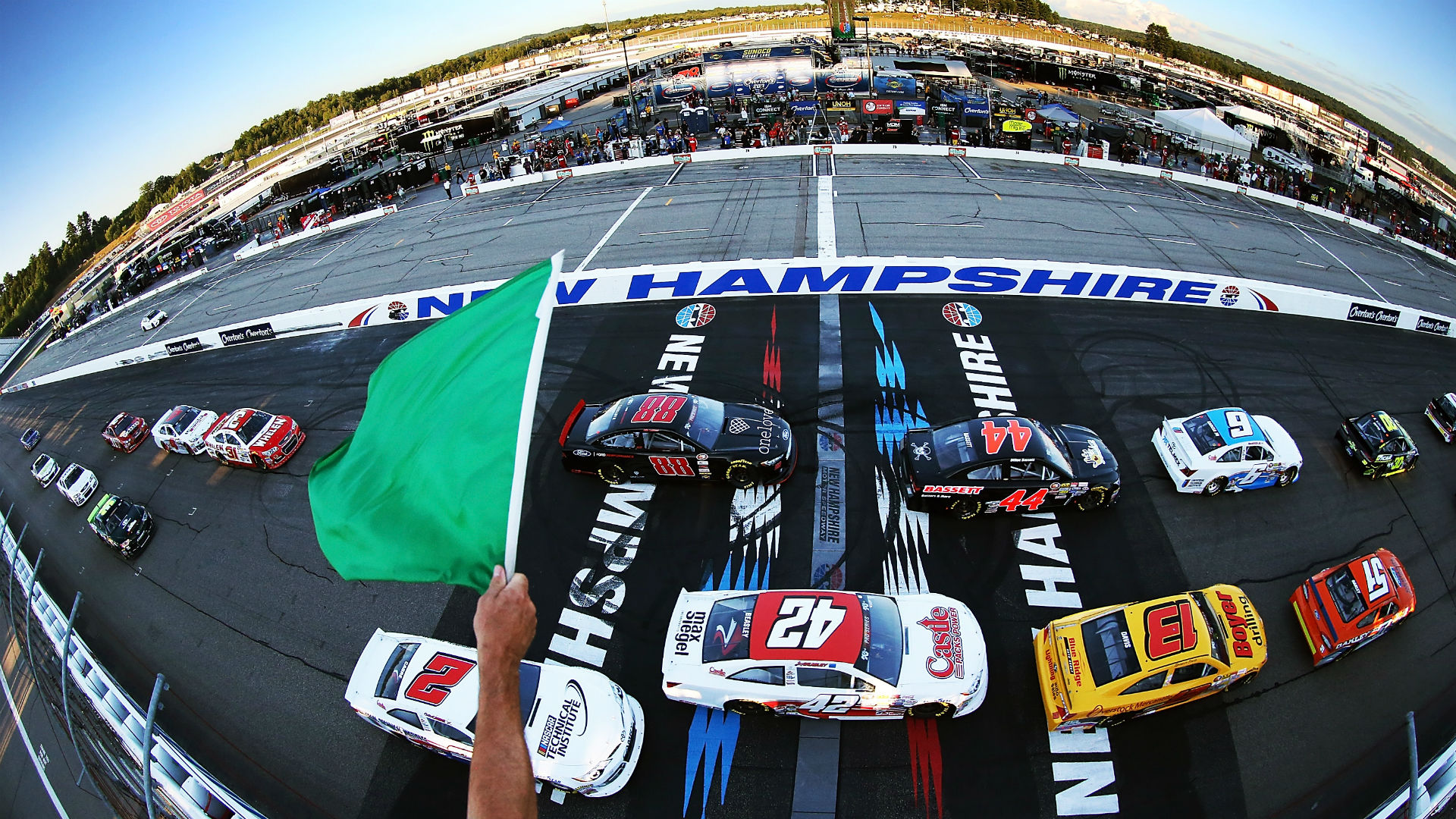 What time does the NASCAR race start today?  Television schedule, channel for the New Hampshire race