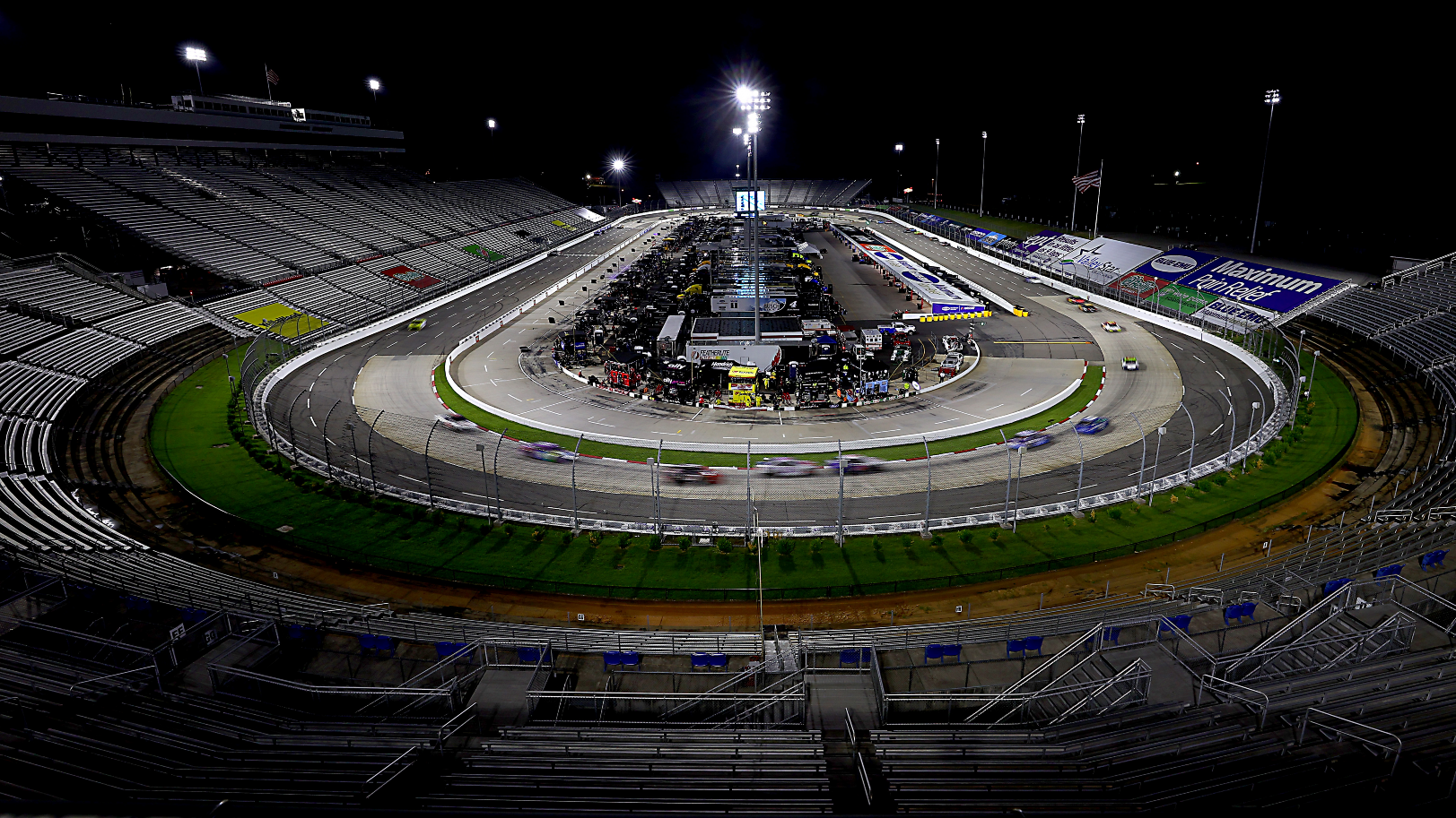 NASCAR lineup in Martinsville: starting order without qualifying for Saturday's race