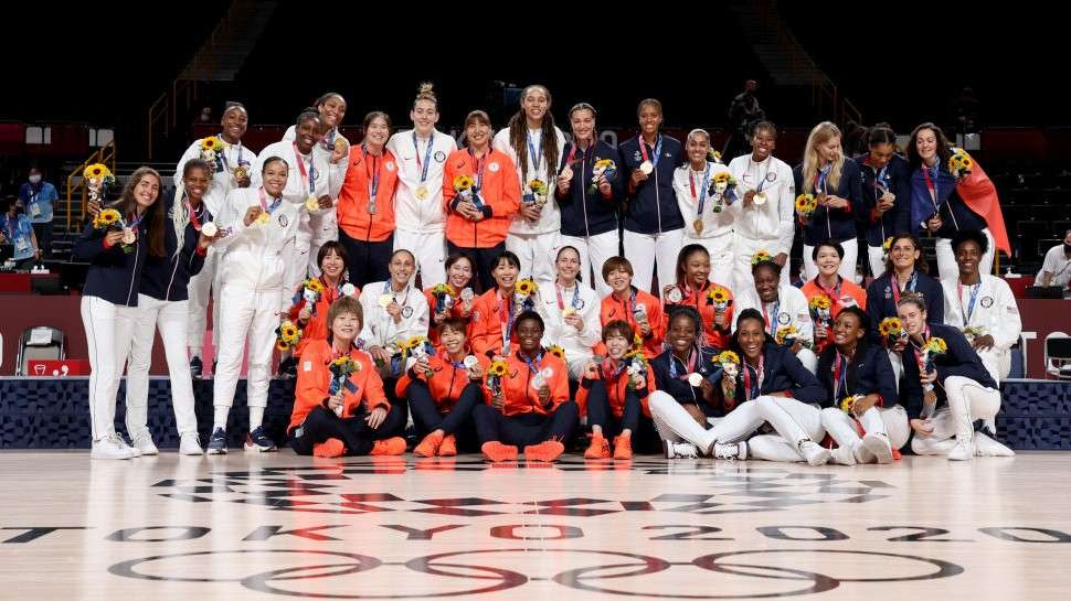 東京オリンピック バスケットボール女子メダリスト