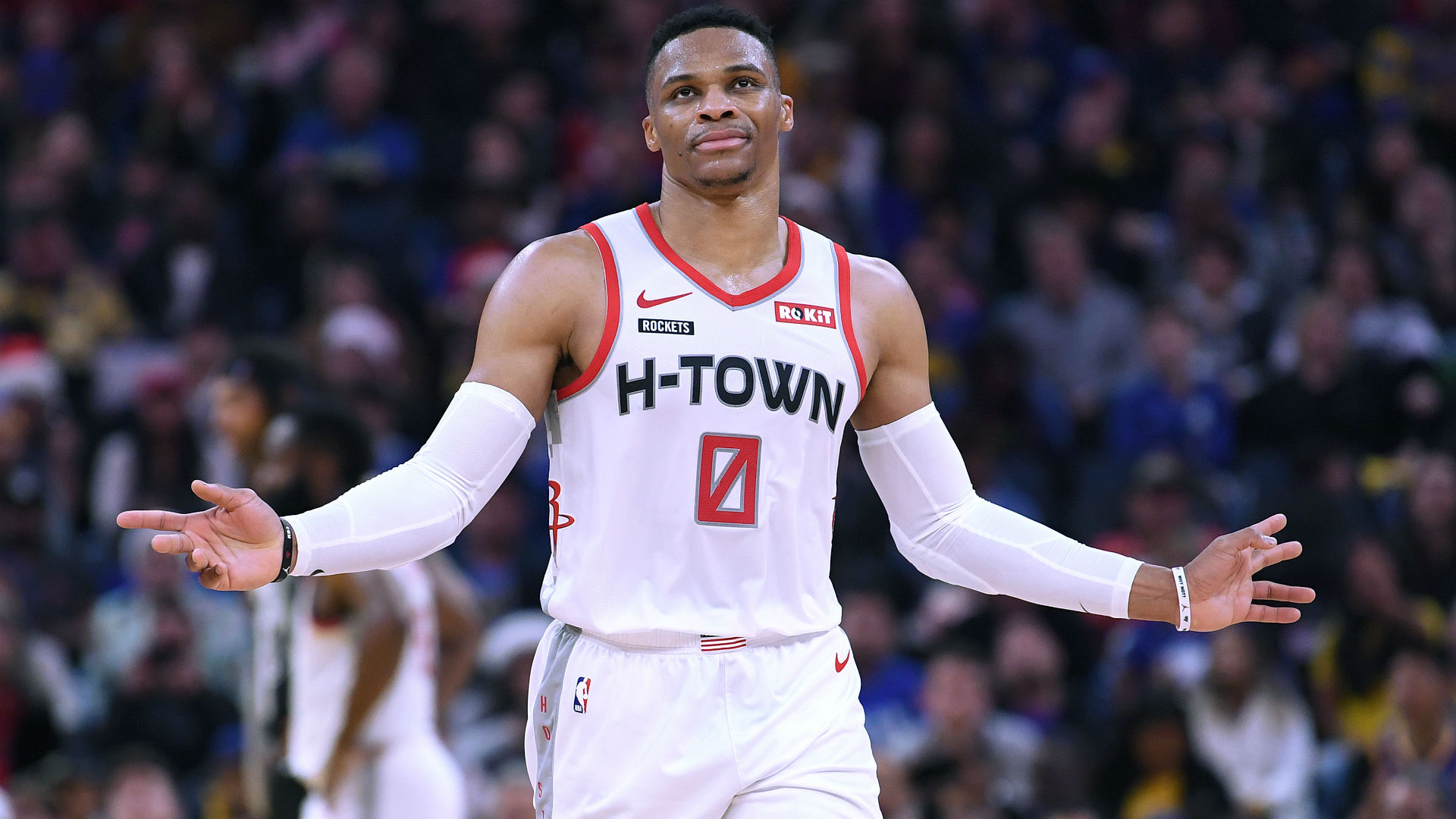 Rockets trade Russell Westbrook to Wizards for John Wall ...