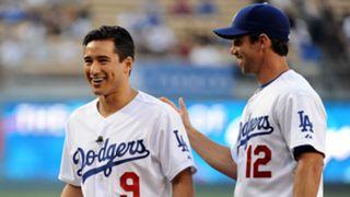 Celebs at Dodgers games
