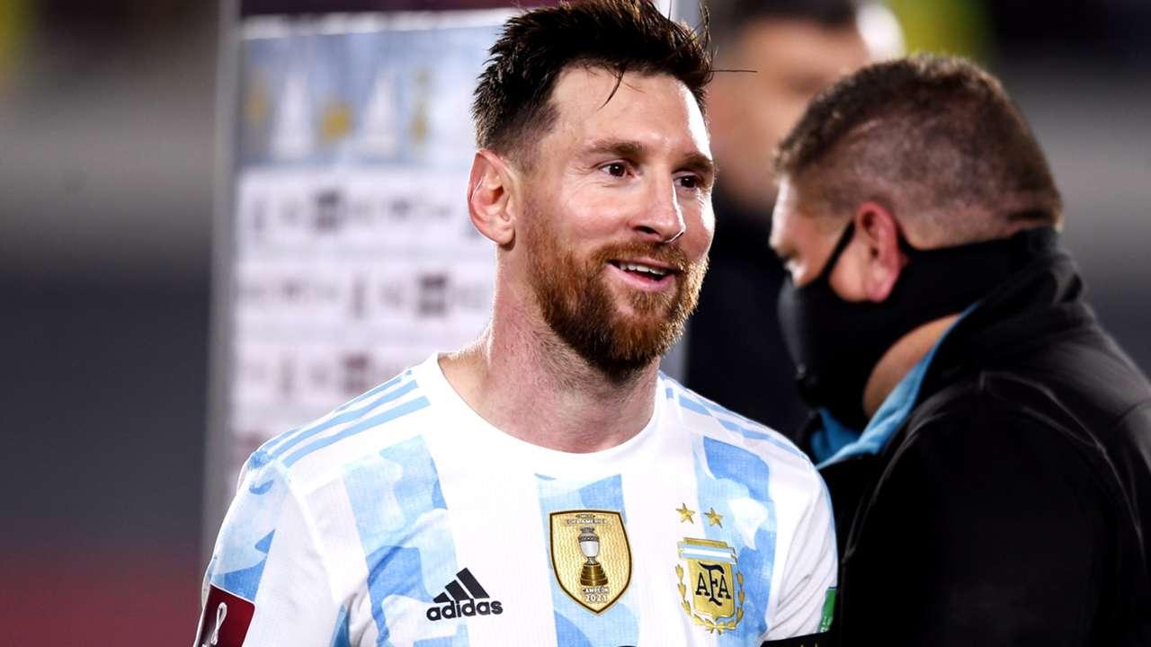 Lionel Messi - Argentina - October 10, 2021