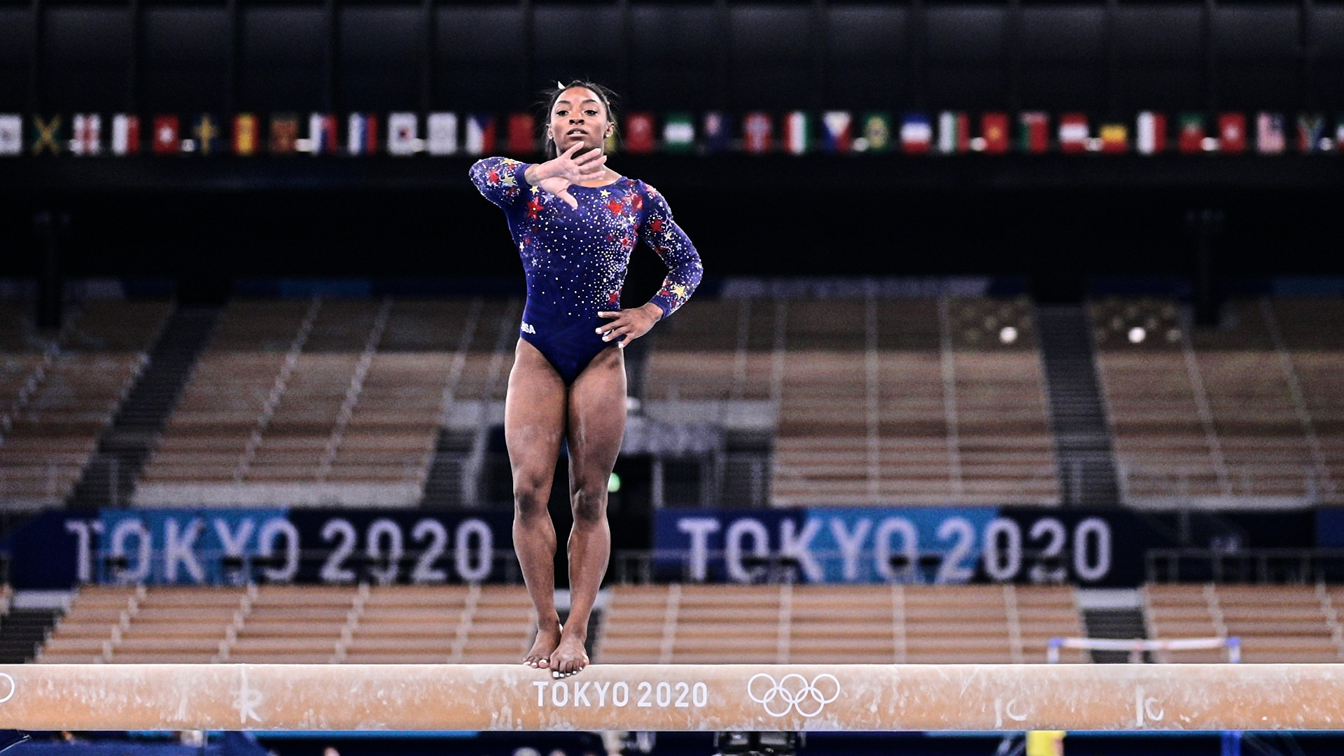 Simone Biles to participate in the balance beam final after withdrawing from other Olympic gymnastics events