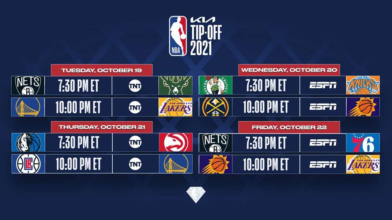 NBA Kia Tip Off