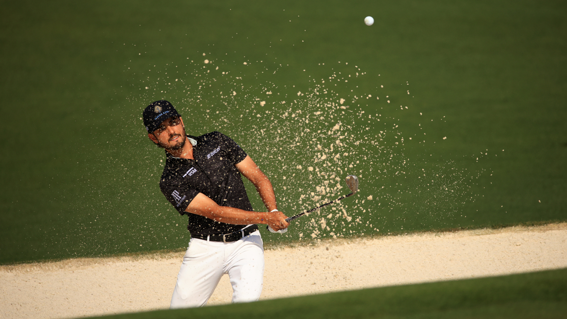 Abraham Ancer discussed a two-stroke sentence at the Masters … for grazing sand