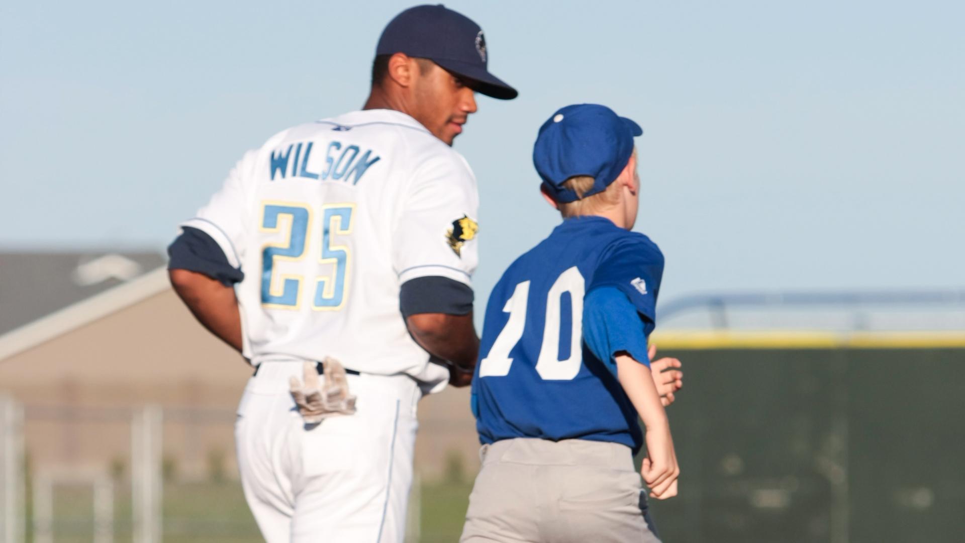 russell wilson baseball jersey