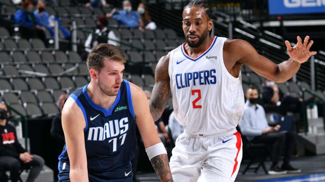 Kawhi Leonard LA Clippers Luka Doncic Dallas Mavericks