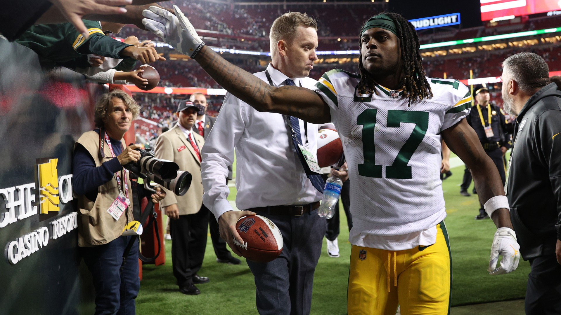 Packers' Davante Adams explains hit that left him injured vs. 49ers: 'It wasn't a concussion'
