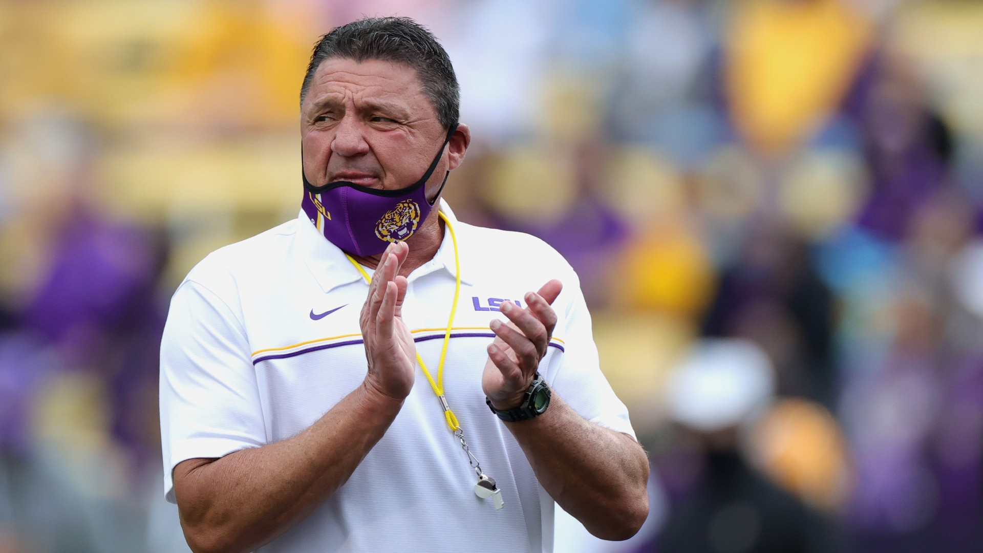 LSU trying to find its way back to the top with new coordinators thumbnail