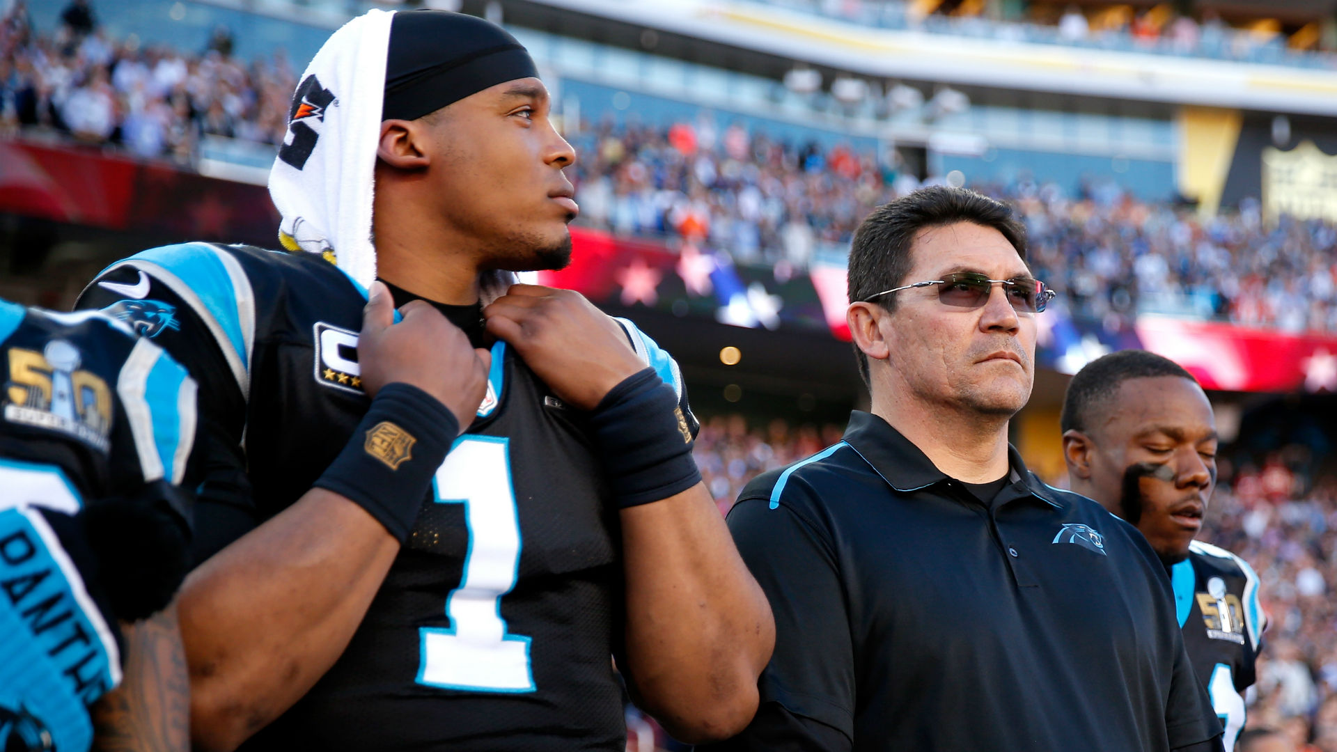 Ron Rivera says 'don't bet against' Cam Newton as he moves to Patriots 1
