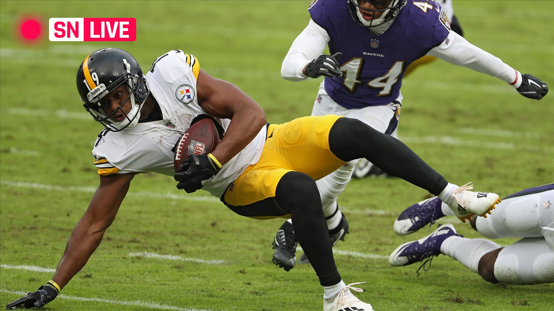 Steelers vs. Ravens live score, updates, highlights from NFL's Wednesday game