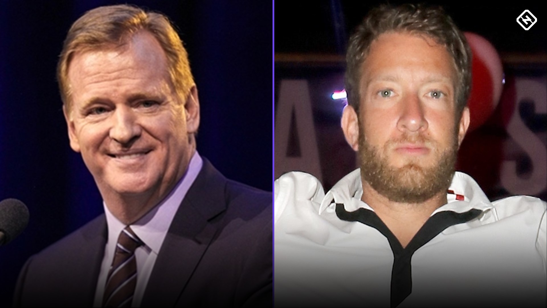 NFL gets out of Roger Goodell sitdown with Barstool's Dave Portnoy, who then calls commish a 'coward' 1
