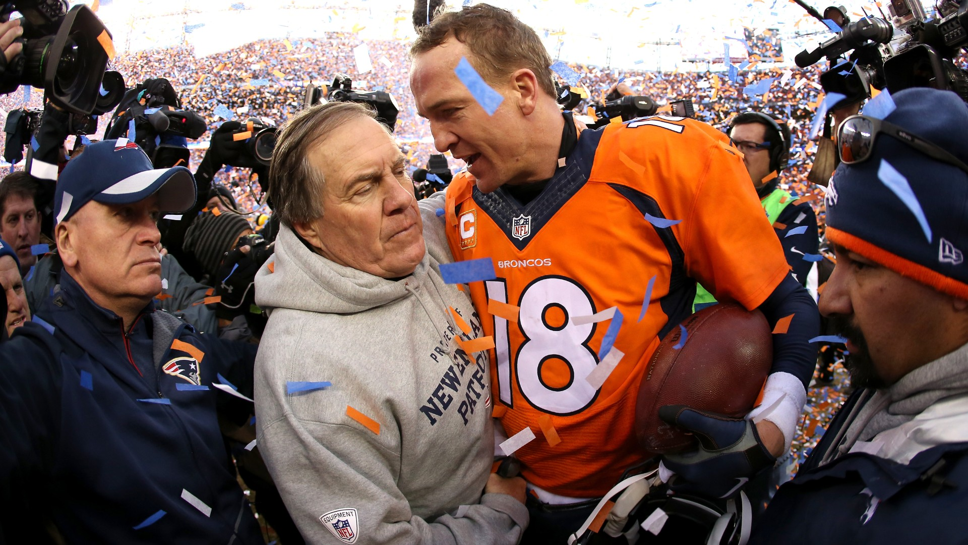 Bill Belichick explains what made Peyton Manning so difficult to face
