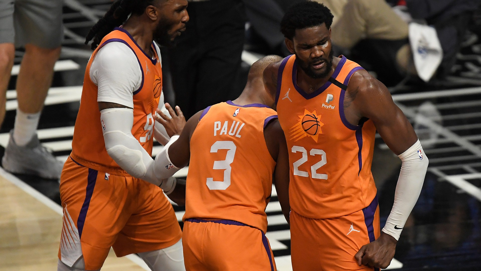 Deandre Ayton paints a masterpiece as Suns get closer to erasing Clippers