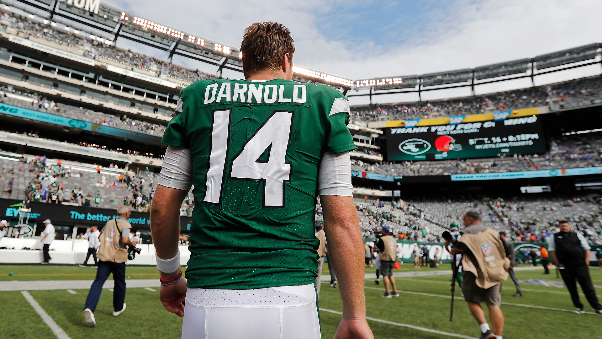 Why Corey Davis' comments about Jets quarterback Sam Darnold don't mean much