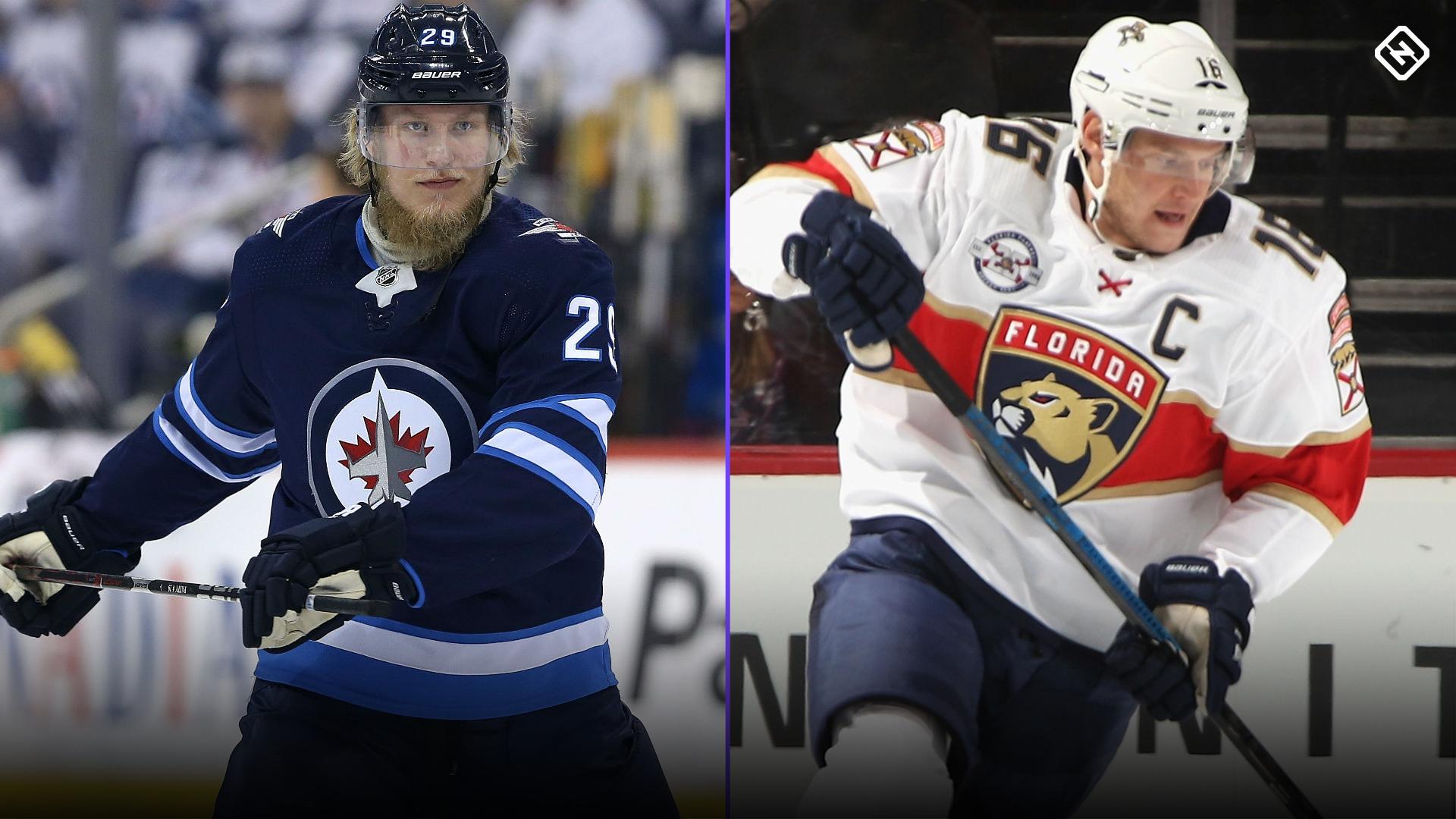 Patrik Laine, Aleksander Barkov look to inspire, leading NHL teams in Finland visit
