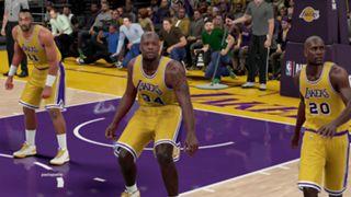 NBA 2K16 2003-04 Lakers