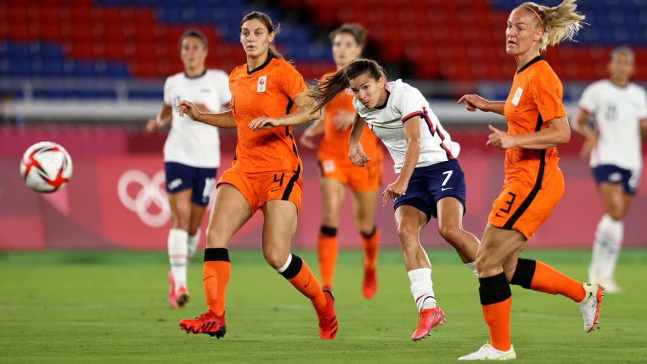 USWNT - Netherlands - 2021 Olympics