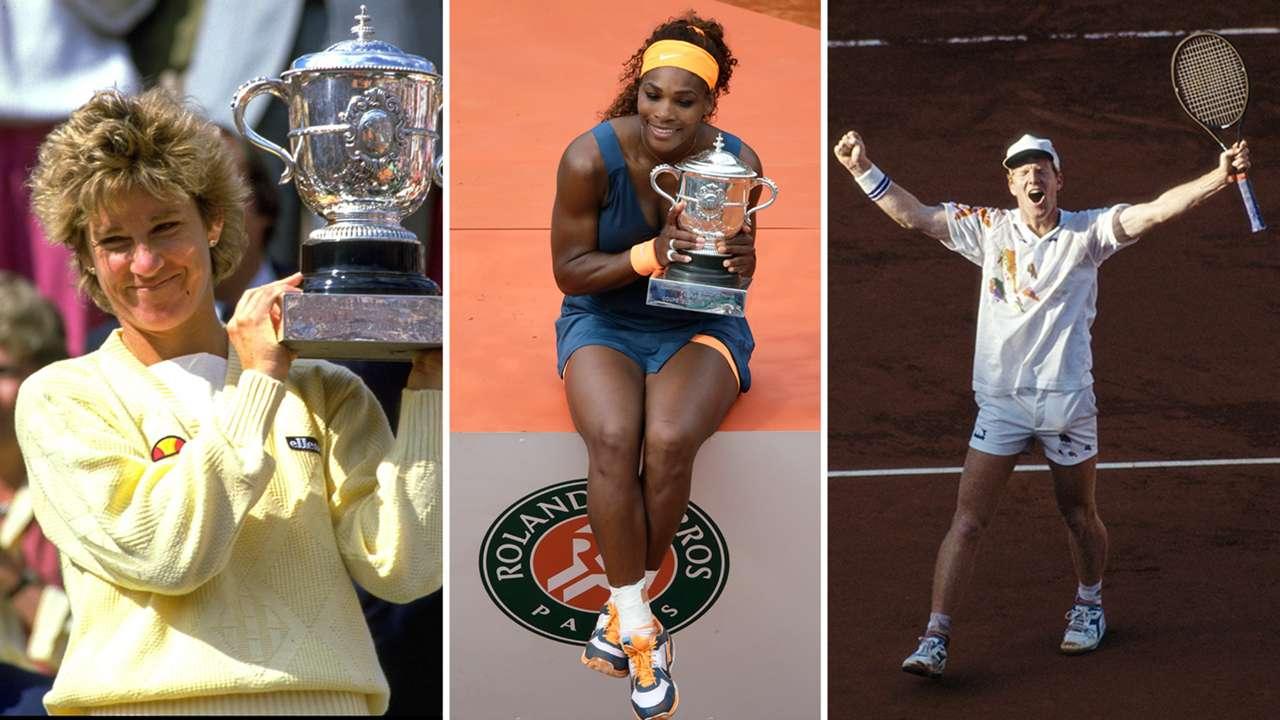 American French Open winners